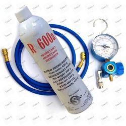 R600a fridge refill kit with manifold