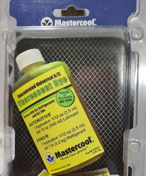 Mastercool 53625 corante universal de ar condicionado