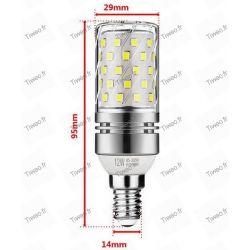 LED-Lampe E14 12W 6000k Typ Mais