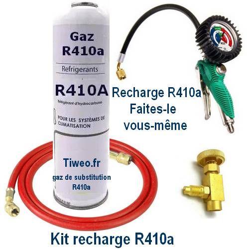 Kit de recarga R410a com manômetro