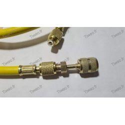 Adaptateur R410a, adapteur R32 pour flexible de climatisation