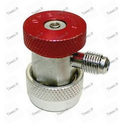 Quick coupling air conditioning R134a High pressure