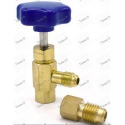 Drill auto valve for charging Gas R407C, Gas Kit R507, R404, R290