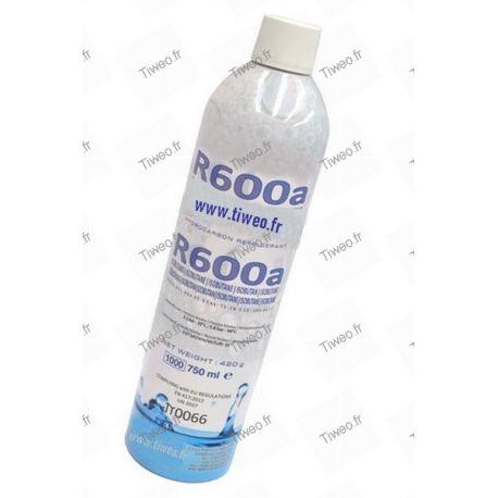 Recarga de nevera R600a, Gas R600a, kit de recarga R600a