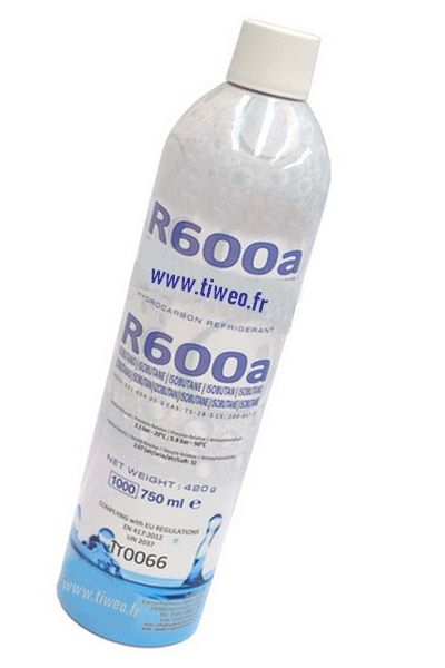 Gas R600a, nevera gas R600a