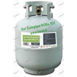 Gaz R410a de substitution 11kg, Gaz R32 de substitution écologique