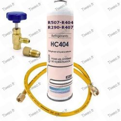 Kit de carregamento R407 para ar condicionado