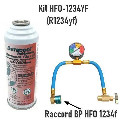 Kit de carregamento HFO 1234yf para ar condicionado automotivo