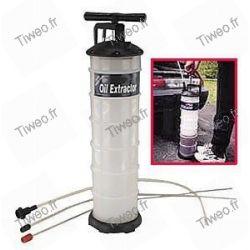 Drain pump for car, boat, mower, motorcycle