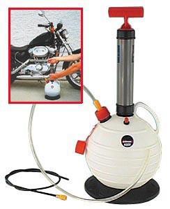 Pompa scarico olio 6 litri