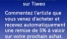 Bon de réduction TIWEO